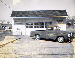 Gordie Lewis first opened the shop in 1964. It was originally located at 1313 West Chester Pike.