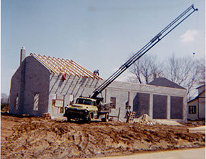 After a few years the business was growing and needed more space. Construction on a new shop at the present location began in 1967.